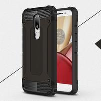 Armory gélový obal pre mobil Lenovo Moto M - čierny