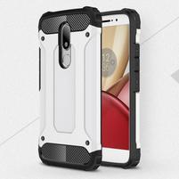 Armory gélový obal pre mobil Lenovo Moto M - bílý