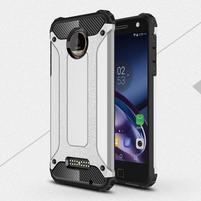 Guardy odolný obal pre mobil Lenovo Moto Z - strieborný