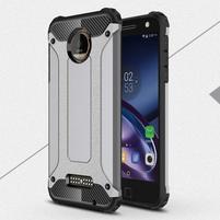 Guardy odolný obal pre mobil Lenovo Moto Z - sivý
