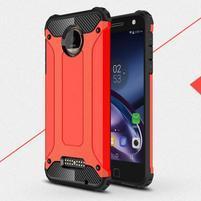 Guardy odolný obal pre mobil Lenovo Moto Z - červený