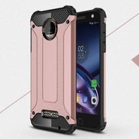 Guardy odolný obal pre mobil Lenovo Moto Z - ružovozlatý