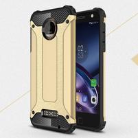 Guardy odolný obal pre mobil Lenovo Moto Z - zlatý