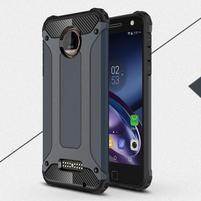 Guardy odolný obal pre mobil Lenovo Moto Z - šedomodrý