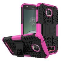 Outdoor odolný obal pre mobil Moto Z Play - rose