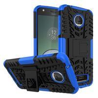 Outdoor odolný obal pre mobil Moto Z Play - modrý
