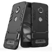 Defender odolný obal na Lenovo Moto Z2 Play - čierny