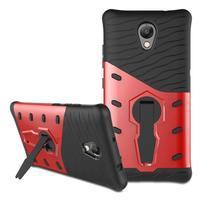 Guard odolný obal 2v1 pre mobil Lenovo P2 - červený