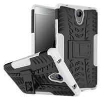 Outdoor odolný obal pre mobil Lenovo Phab 2 - bílý