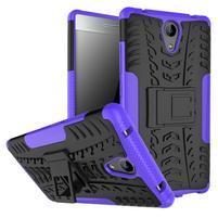 Outdoor odolný obal pre mobil Lenovo Phab 2 - fialový