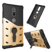 Defender odolný obal pre telefon Lenovo Phab 2 Plus - zlatý