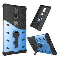 Defender odolný obal pre telefon Lenovo Phab 2 Plus - modrý
