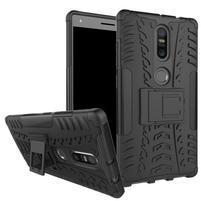 Outdoor odolný obal pre mobil Lenovo Phab 2 Plus - čierny