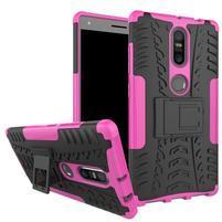Outdoor odolný obal pre mobil Lenovo Phab 2 Plus - rose