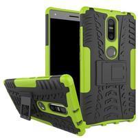 Outdoor odolný obal pre mobil Lenovo Phab 2 Plus - zelený