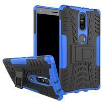 Outdoor odolný obal pre mobil Lenovo Phab 2 Plus - modrý