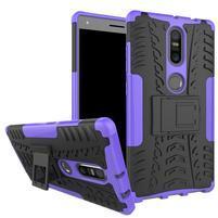 Outdoor odolný obal pre mobil Lenovo Phab 2 Plus - fialový