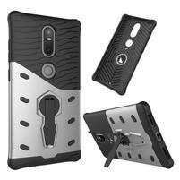 Defender odolný obal pre telefon Lenovo Phab 2 Plus - strieborný