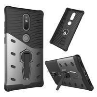 Defender odolný obal pre telefon Lenovo Phab 2 Plus - šedý