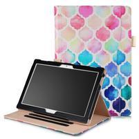Patty polohovacie puzdro na Lenovo Tab 4 10 - mozaika