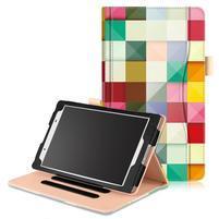 Emotive zapínacie puzdro na Lenovo Tab 4 8 - triangle