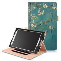 Emotive zapínacie puzdro na Lenovo Tab 4 8 - kvitnúca vetvička