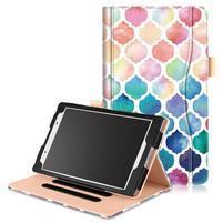 Emotive zapínacie puzdro na Lenovo Tab 4 8 - mozaika
