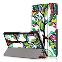 Emotive zapínacie puzdro na Lenovo Tab 4 8 Plus - maľovaný strom