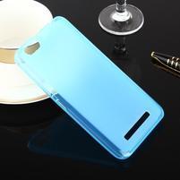 Matts gélový obal pre mobil Lenovo Vibe C A2020 - modrý