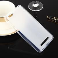Matts gélový obal pre mobil Lenovo Vibe C A2020 - bielý