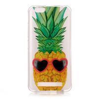 Emotive gélový obal pre mobil Lenovo Vibe C A2020 - ananas