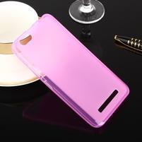 Matts gélový obal pre mobil Lenovo Vibe C A2020 - rose