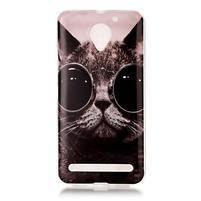 Motive gélový obal na Lenovo C2 - cool mačka
