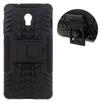 Outdoor odolný obal na mobil Lenovo Vibe P1 - čierny