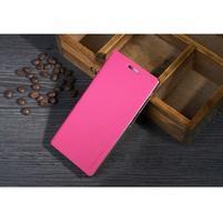 Kožené puzdro pre Lenovo Vibe X2 - rose