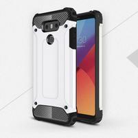 Armory odolný obal pre mobil LG G6 - biely