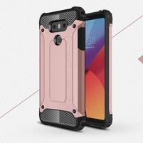 Armory odolný obal pre mobil LG G6 - ružovozlatý
