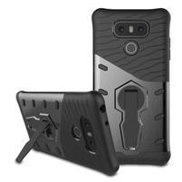 Defender odolný obal pre mobil LG G6 - šedý