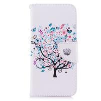 Emotive peňaženkové puzdro na mobil LG G7 - strom