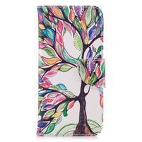 Emotive peňaženkové puzdro na mobil LG G7 - maľovaný strom