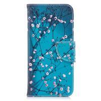 Emotive peňaženkové puzdro na mobil LG G7 - kvitnúci strom