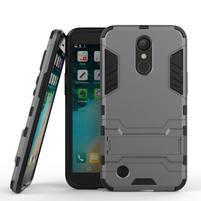 Defender odolný obal pre mobil LG K10 (2017) - šedý