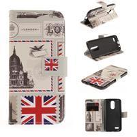 Niceses peňaženkové puzdro pre mobil LG K4 (2017) - London