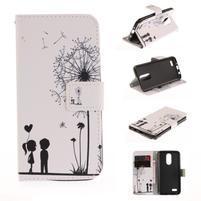 Niceses peňaženkové puzdro pre mobil LG K4 (2017) - láska