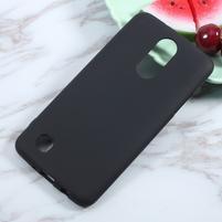 Matts gélový obal pre mobil LG K4 (2017) - čierny