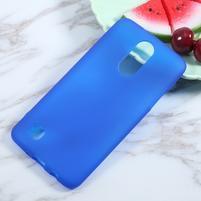Matts gélový obal pre mobil LG K4 (2017) - modrý