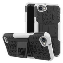 Outdoor odolné puzdro so stojanom na LG Q6 - biele