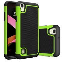 GT hybridný odolný obal pre mobil LG X Style - zelený