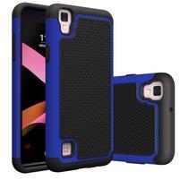 GT hybridný odolný obal pre mobil LG X Style - modrý