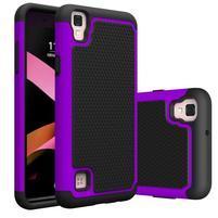 GT hybridný odolný obal pre mobil LG X Style - fialový